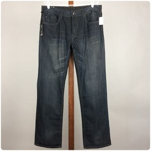 NWT Six Basic by Buffalo Slim Straight Jeans